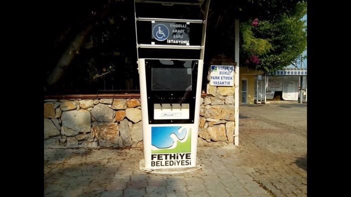 Mobility scooter charging station Fethiye