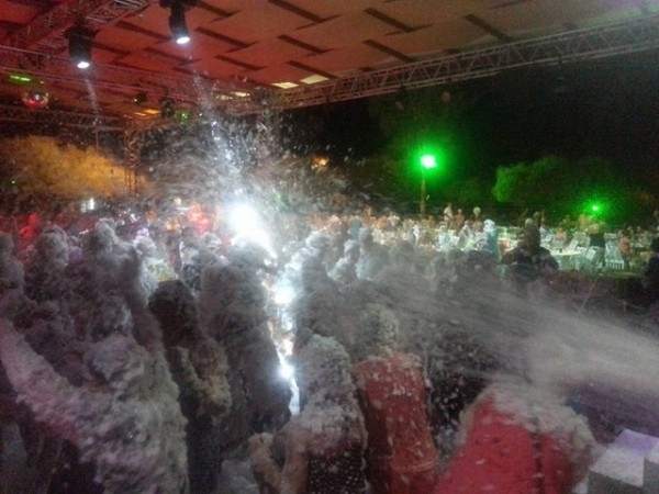 Animal aid foam party