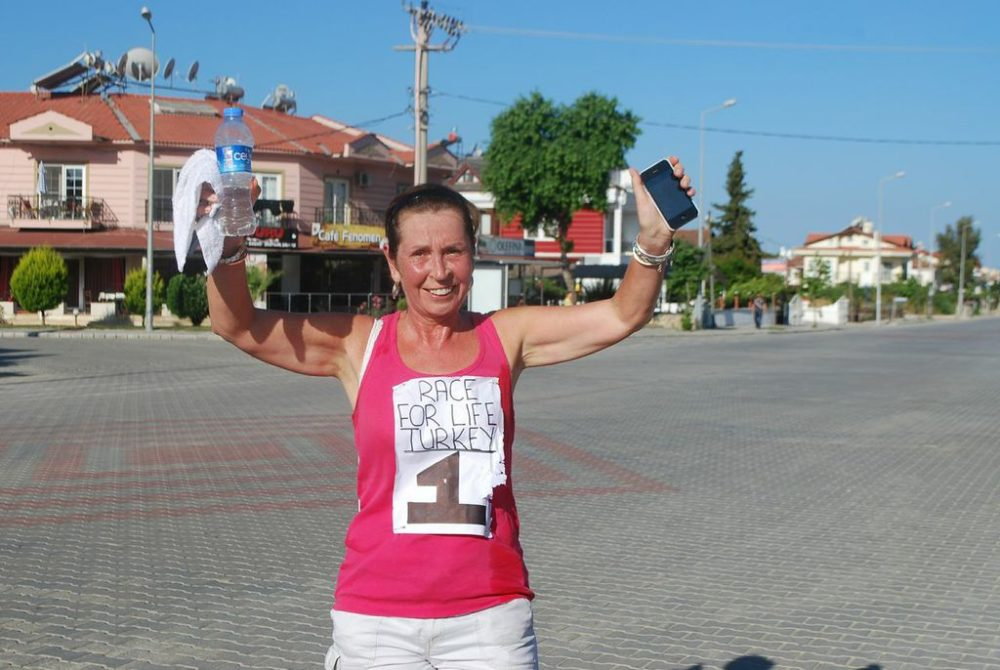 Yaşam İçin Yarış (Race For Life Turkey) - Fethiye, runs, jogs and walks for life for the fourth year