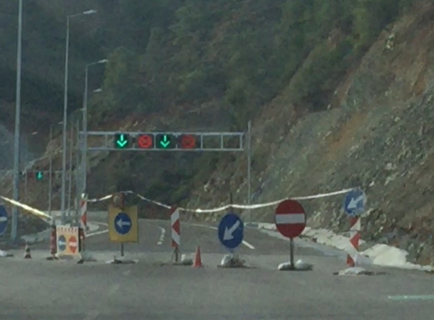The second Gocek tunnel is due to open in early 2016