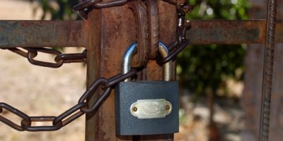 Kayakoy Church Padlock