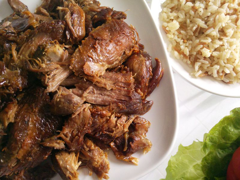 Recipe Box – Meat Dishes – Roasted Lamb (Kurban Kavurma)