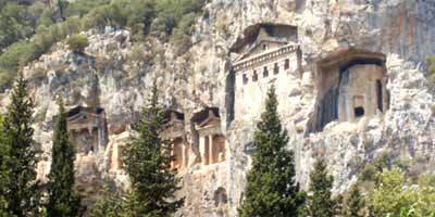 Rocks Tombs, Dalyan