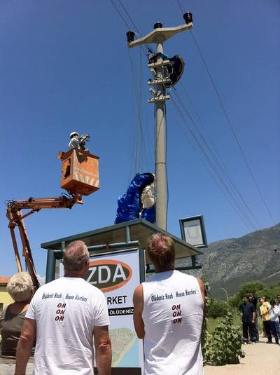 Sunday Hangover - Oludeniz Has House Harriers were the first on the scene to help rescue a fallen paraglider (Ovacik,Oludeniz)