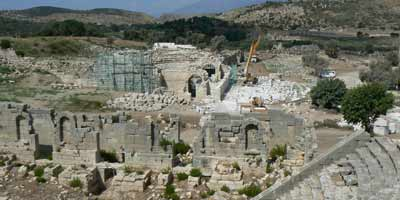 Patara under re-construction