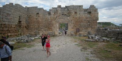 Perge is about 10 miles from central Antalya and a very large, interesting site to visit.