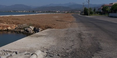 The next phase of the Fethiye promenade will be completed in 2012