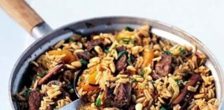 Recipe Box – Meat Dishes – Lamb Pilau (Kuzu Pilavı)