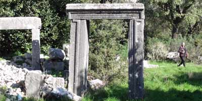 Hellenistic Doorway