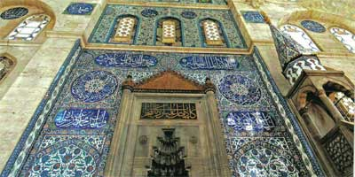 A feast of tile, stone and stained glass