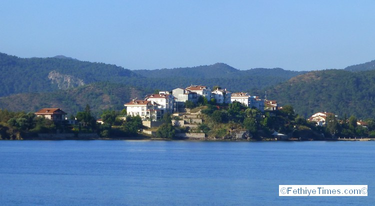 Day Trip from Fethiye - Sovalye Island - View from Calis Beach