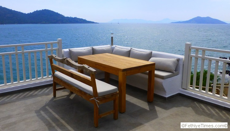 Day Trip from Fethiye – Go To Sovalye Island - A table with a view