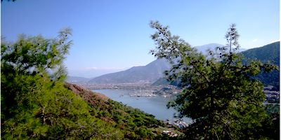 View over Fethiye Town - It was another fine and sunny week in Fethiye