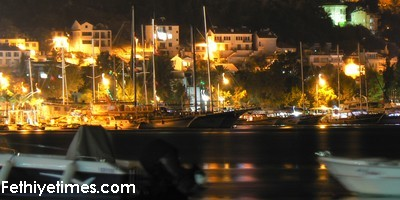 Fethiye by night has many things to do for the visitor.