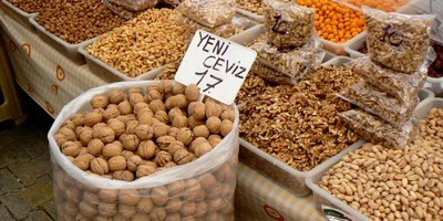 Images of Fethiye - Walnuts in Market