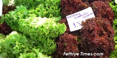 Fethiye Market takes place on a Tuesday in the Turkish market town