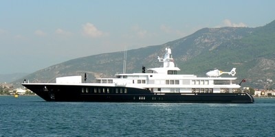 Super Yacht AIR visited Fethiye, Turkey earlier this week