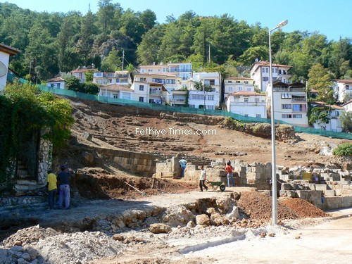 Fethiye Antique Theatre Restoration Project