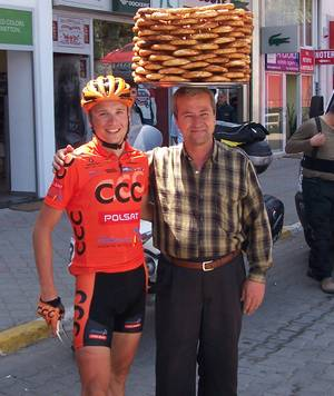 Our Simici with a rider from the Polsat Team 2010 Fethiye