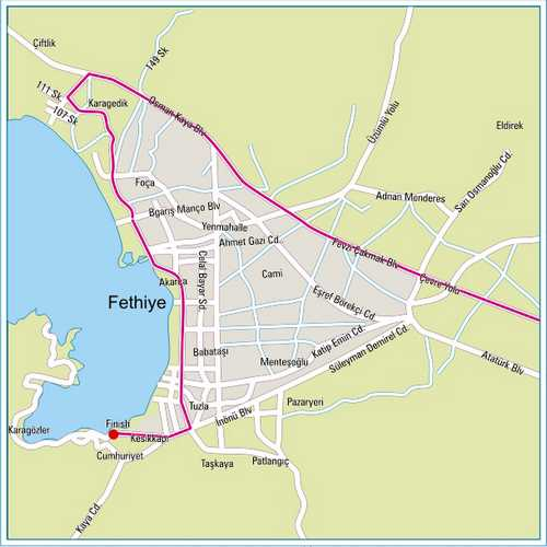 Tour of Turkey Cycle Race Arrives in Fethiye Today Fethiye Times
