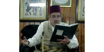 Al Nawfara, is home to the last professional storyteller in Syria: Abu Shady (pronounce it 'Shah-di')