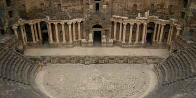 Syria – Bosra with its amazing amphitheatre