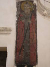 painting on wood from one of Deyrül Zaferan's chapels
