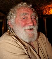 Dr. David Bellamy at a Turtle fund raising event Dalyan, Turkey April 2010
