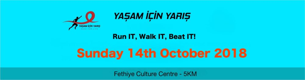 Yaşam İçin Yarış (Race For Life) 2018 - everything you need to know so far