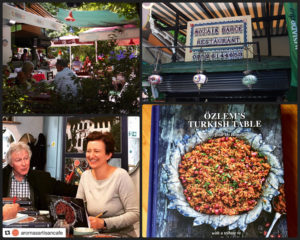 Özlem's Turkish Table: Recipes from My Homeland – special book signing event at Mozaik Bahçe @ Mozaik Bahçe
