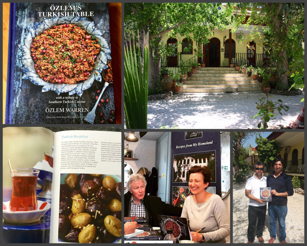 Özlem's Turkish Table: Recipes from My Homeland - special Turkish breakfast book signing event at the Yakamoz Hotel in Ovacık