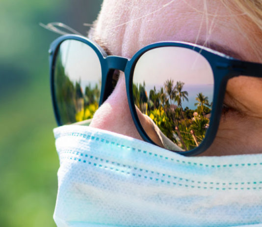 Tips for wearing a mask in the hot weather