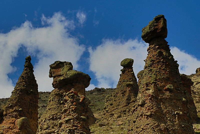 Fairy chimneys of Çankırı