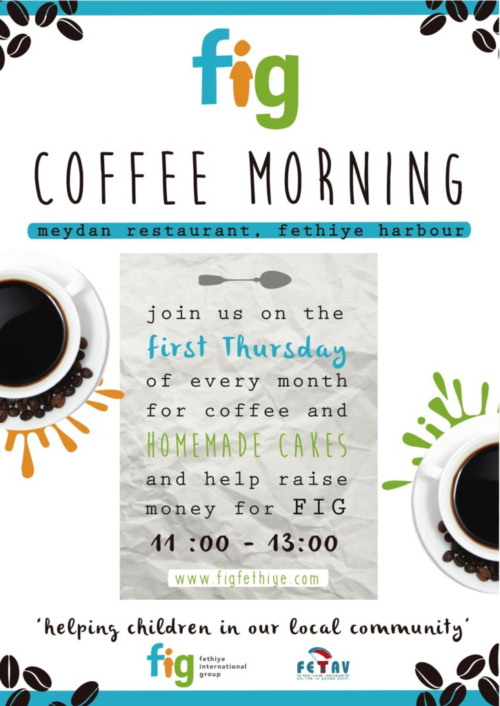 Fethiye International Group (FIG) Coffee Morning