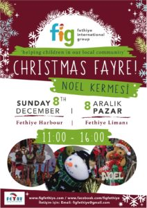 Fethiye International Group (FIG) Christmas Fayre @ Fethiye Harbour