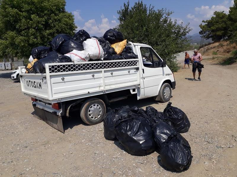 A clean and a new routine for Karataş beach