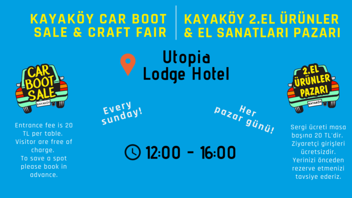 Kayaköy Car Boot Sale & Craft Fair