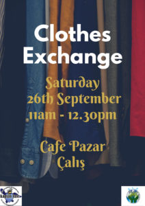 Clothes Exchange @ Cafe Pazar