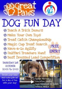 Great Paws & HAYED - Dog Fun Day @ HAYED Edocaton Centre
