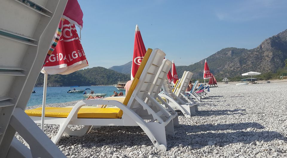 Ölüdeniz - the end of the season- Photo courtesy of Aisha Ali