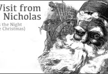 Account of a visit from St Nicholas