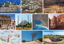 Ten Top Tourist Attractions in Turkey