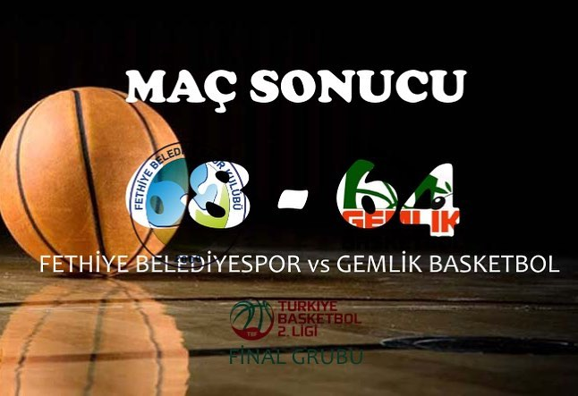 Fethiye Beledeyispor lost their away match against Artvin Belediye on Wednesday. The final score was 76 - 68.