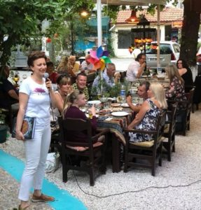 Ozlem's Turkish Table returns to Fethiye: Antakya style supper & book signing at Mozaik Bahçe @ Mozaik Bahçe