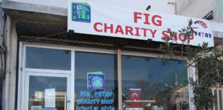 It's business as usual for the FIG Charity Shop