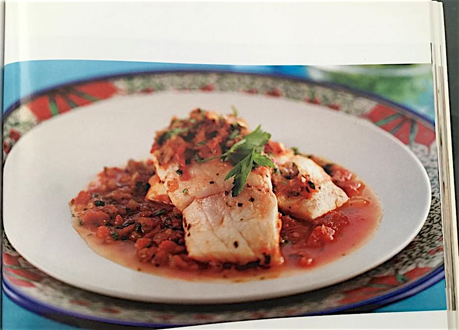 Recipe Box – Fish and Seafood – Balık domates soslu (Fish in tomato sauce)