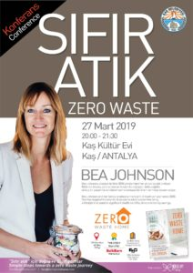 Zero Waste Conference with Bea Johnson @ Kaş Kültür Evi