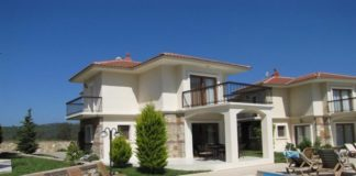 Detached Mountain View Villa For Sale In Ovacik