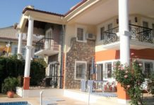 Spot Blue Property of the Month - beautiful detached villa for sale in Yeşilüzümlü