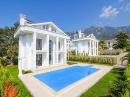 Spot Blue Property of the Month – Small Complex Of Detached Houses For Sale In Ovacık